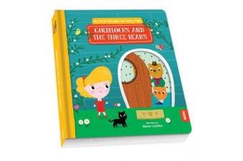 My First Pull-the-Tab Fairy Tale: Goldilocks and the Three Bears [Board book]