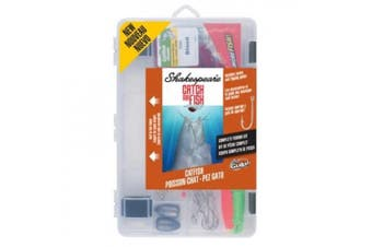 (catfish) - Shakespeare Catch More Fish Tackle Box Kit