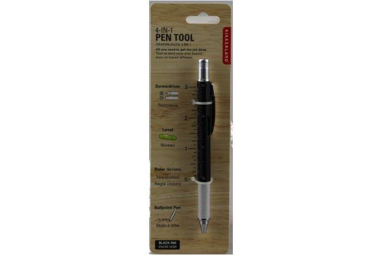 (1, black) - KIKKERLAND Multi Tool Pen