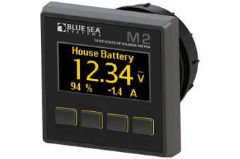 BLUE SEA 1830 M2 DC STATE OF CHARGE MONITOR