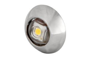 (White Light, Stainless Case) - LUMITEC EXUMA COURTESY LIGHT STAINLESS HOUSING WHITE LIGHT