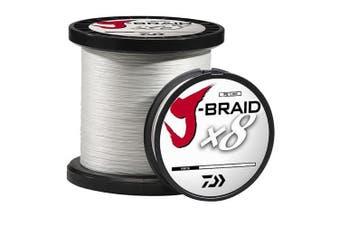 (23kg/330 yd, White) - Daiwa J-Braid Fishing Line, 330 yds, White