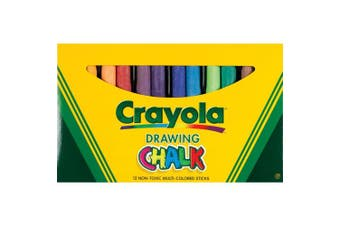 (1 Pack) - Crayola Drawing Chalk