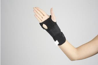 (S2 (21 - 27 cm)) - Thumb Wrist Support - Hand Brace Helps Carpal Tunnel Syndrome, Tendonitis Adjustable for Right Left Hand (S2 (21 - 27 cm))