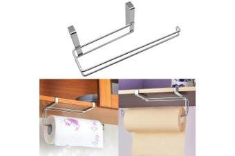 Hysagtek Kitchen Roll Holder Paper Towel Holder Under Cabinet Shelf Toilet Paper Dispenser Storage Rack Holder