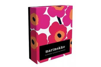 20DIFFERENT UNIKKO NOTECARDS AND ENVELOPES ISBN 9781452138732 with 20 pieces of marimekko pattern message cards (with the envelope)