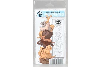 Art Impressions Stackers Cling Rubber Stamp Set