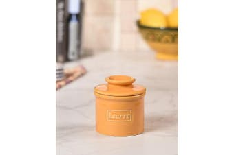 (Golden Yellow) - The Original Butter Bell Crock by L. Tremain, Cafe Collection Retro Café Golden Yellow
