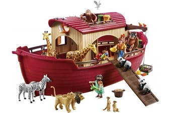 Playmobil 9373 Wild Life Floating Noah's Ark with Crane