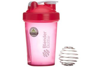 (20oz / 590ml, pink) - BlenderBottle Classic (Discontinued Style), 590ml, Pink/Pink