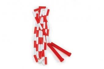 (Red / White) - CSI Cannon Sports Segmented Jump Rope