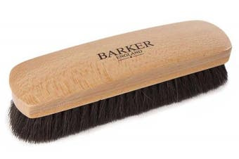 (Black) - Barker Luxury XL Horsehair Polishing Brush