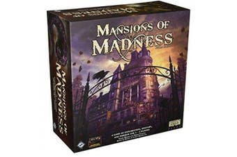 (Main game) - mansions of madness board game, 2nd edition