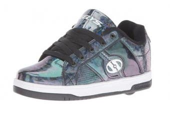 (5 UK, Black (Black/Hologram)) - Heelys Unisex Kids Split Sneakers