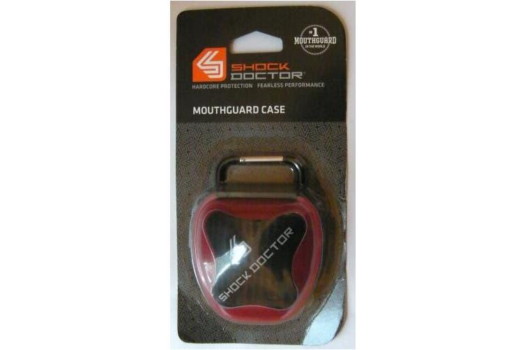 (red) - Shock Doctor ShockDoc Mouthguard Case