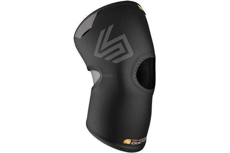 (s) - Shock Doctor Knee Sleeve /Open Patella - Adult (Black)