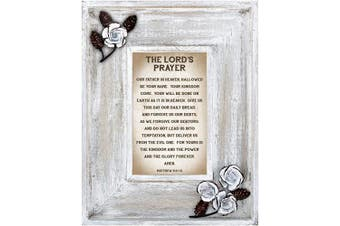 (Lord's Prayer) - LoveLea Down Home Collection Tabletop Frame, Lord's Prayer