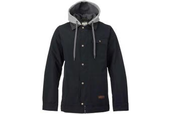 (Medium, true black) - Burton Dunmore Snowboard Jacket, Men, Dunmore Jacket