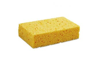 Boardwalk CS2 Large Yellow Cellulose Sponge