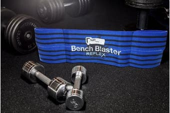 (XXX-Large, Reflex - Level 1 Strength) - Gunsmith Fitness Bench Blaster - Crossfit, Weightlifting, Powerlifting, Bench Press Sling, Stronglifts, Weight training, Strength training