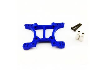 (Front Shock Tower, Blue) - Atomik RC Alloy Front Shock Tower, Blue fits the Traxxas 1/10 Slash 4X4 and Other Traxxas Models - Replaces Traxxas Part 6839