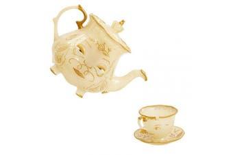 (Standard) - Disney Beauty & The Beast Live Action Enchanted Tea Set Playset