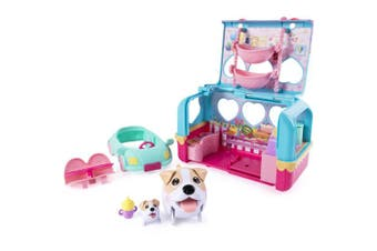 Chubby Puppies & Friends Vacation Camper Playset, Jack Russell Terrier