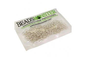 (5mm, Silver) - BeadsMonster Jewellery Findings Jump rings for Jewellery design and Making , Silver Colour, 5mm, 20g