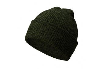 (Dark green) - A.P. Donovan - Winter cap for men | made of cotton | Winter Hat Knitted Hat | Wool cap beanie