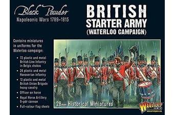 Warlord Games, Napoleonic British Starter Army (Waterloo Campaign), Black Powder Wargaming Miniatures