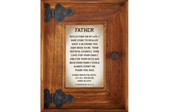 (Father) - LoveLea Down Home Collection Tabletop Frame, Father