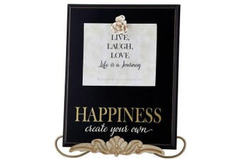 (Happiness) - Heartfelt Collection Grace Remembered Clipboard Plaque, Happiness