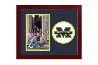 Michigan Wolverines Spirit Photo Frame (Vertical)