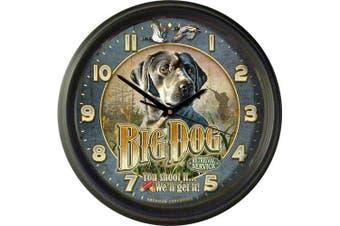 American Expedition Big Dog Retrieval Service 41cm Wall Clock