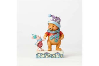 Jim Shore Disney Traditions Winter Pooh and Piglet 4057939