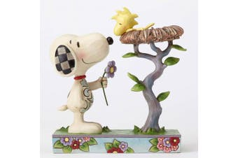 Jim Shore Peanuts 4054079 Snoopy Snoopy with Woodstock in Nest New 2016