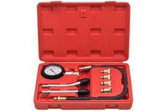 Biltek Engine Cylinder Compression Tester Gauge Kit Professional Mechanics Gas Engine