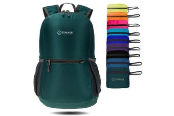 (Dark Green) - ZOMAKE Ultra Lightweight Packable Backpack Water Resistant Hiking Daypack,Small Backpack Handy Foldable Camping Outdoor Backpack Little Bag