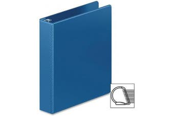 Wilson Jones® Heavy Duty D-Ring Binder with Extra Durable Hinge, 3.8cm , PC Blue