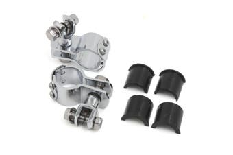 2.5cm ~3.2cm Highway Motorcycle Footpegs Mount For Harley Davidson Universal Chrome High Quality