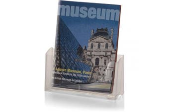 Officemate Literature/Magazine Holder, for 22cm Wide Flyers or Magazines, Clear, 1 Holder (23014)