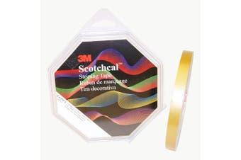 3M Scotch Scotchcal Striping Tape: 1.3cm . x 50 yds. (Gold Metallic)