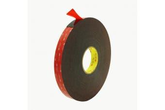 3M Scotch 5952 VHB Tape: 2.5cm . x 36 yds. (Black)