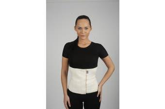 (S (70-80 cm)) - Wool Waist Warmer & Support Kidney Warming Belt Arthritic Back Corset (S (70-80 cm))