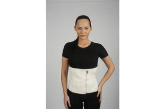 (M (80-90 cm)) - Wool Waist Warmer & Support Kidney Warming Belt Arthritic Back Corset (M (80-90 cm))