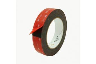 3M Scotch 5952 VHB Tape: 2.5cm . x 15 ft. (Black)