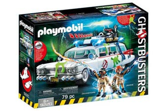 Playmobil 9220 GhostbustersTM Ecto 1 with Lights and Sound