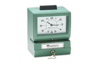 (Model - 125ER3, Day/Hour (0-23) /Hundredths) - Acroprint 125ER3 Heavy Duty Manual Time Recorder for Day of the Week and Hour (0-23) and Hundredths Time Clock