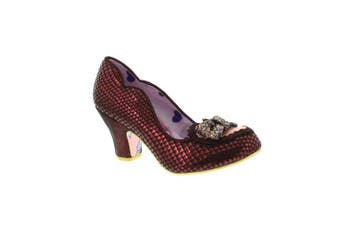 (38 EU, Red) - Irregular Choice Women's Miss Issippi Closed-Toe Heels