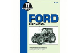 Service Manual For Ford Holland Tractor 5640 6640 7740 7840 8240 8340